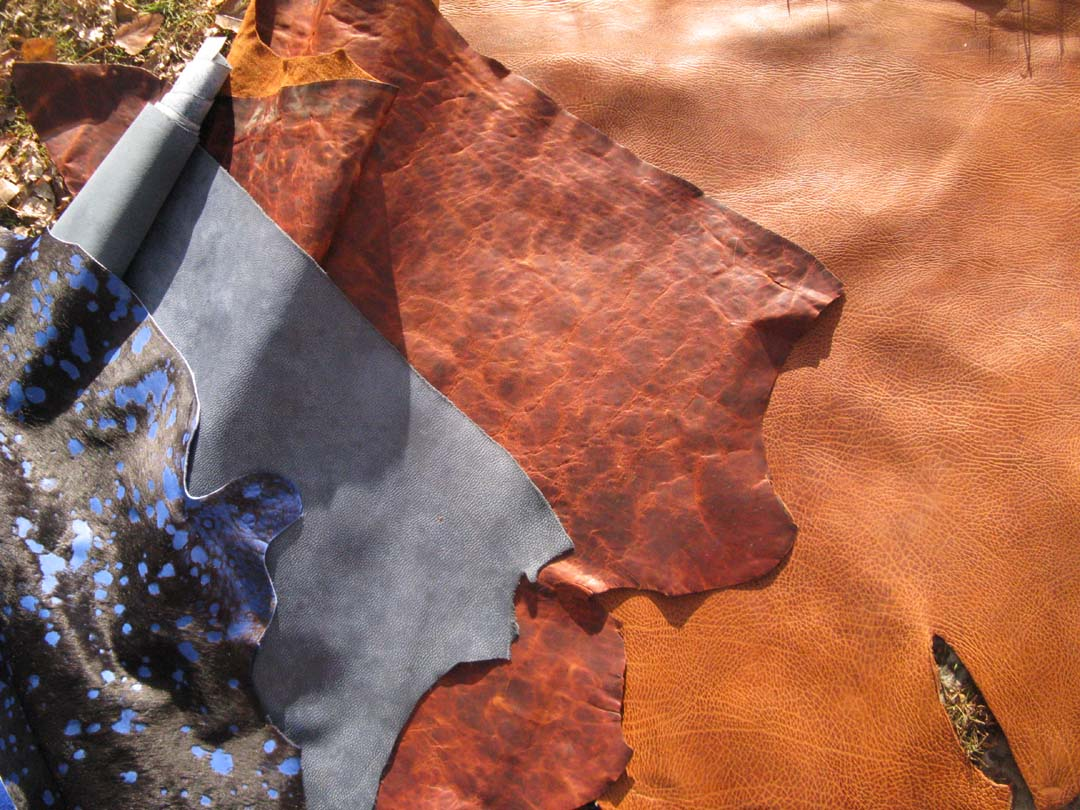 Leather Colors from Shooting Star Saddlery